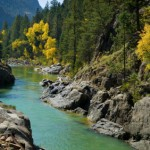Animas River Fall in Canyon